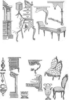 historia del mueble: