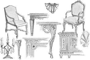 Decoracion de interiores estilos frances luis xiv - Libros de decoracion de interiores gratis ...