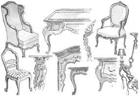 Decoracion de interiores estilos frances luis xv for Decoracion de interiores luis xv